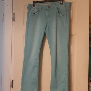 !IT Women's Aqua Colored Jeans